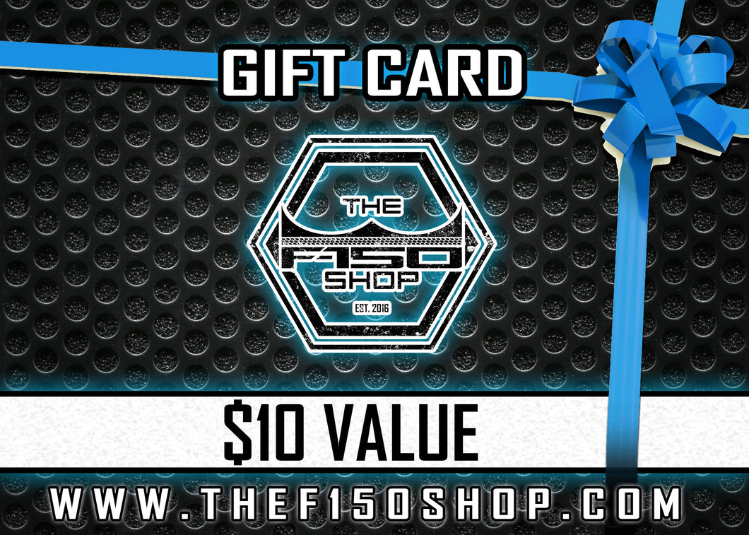 The F150 Shop | Gift Card