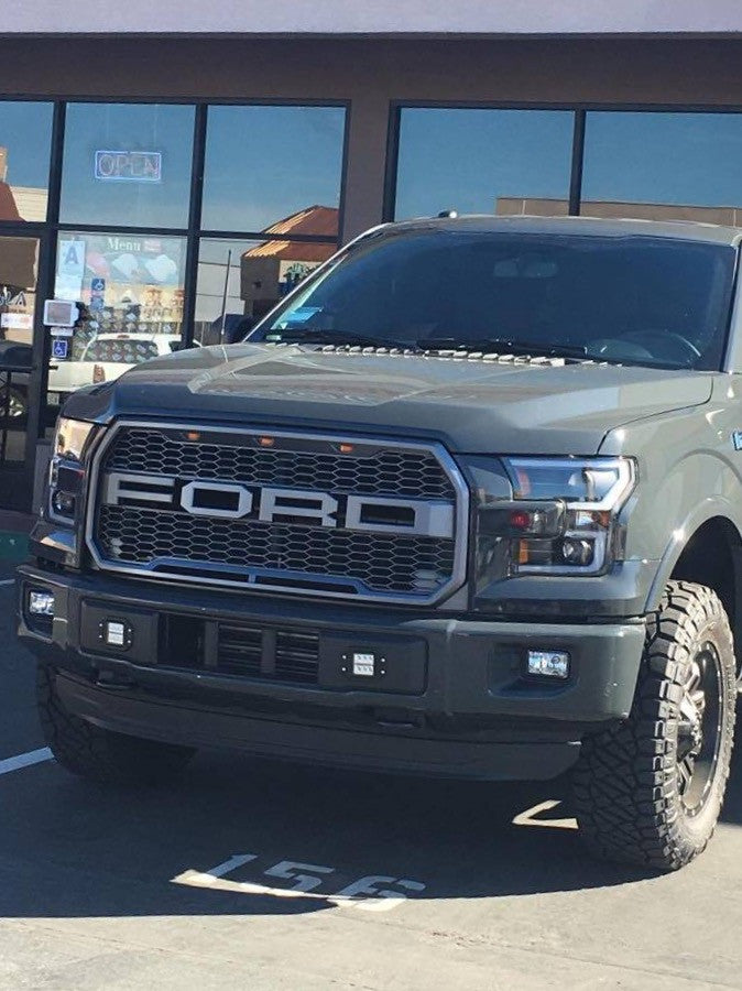 2015 Ford F150 Grill >> Paramount 41 0157 Letters Raptor Style Grille For The 2015 2017 Ford F150 With Letters