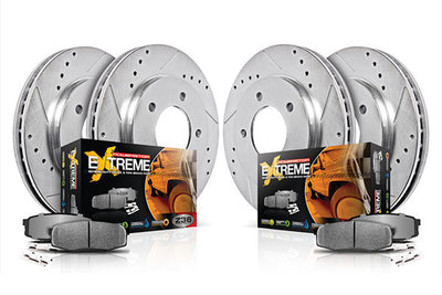 Power Stop | K3166-36 | Z36 Truck and Tow Brake Kit For 2010-2011 Ford F150/Raptor (6 Lug Only)