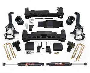 Ready Lift | 44-2575-K | 7 Inch Lift Kit System With Rear Shocks Fit 2015-2017 Ford F150 4WD