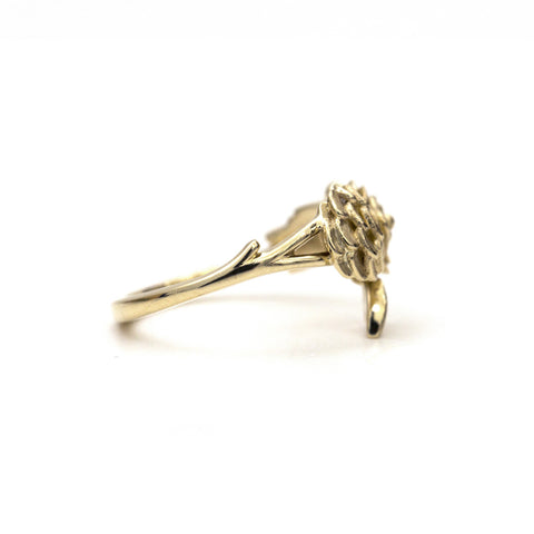 Autumn botanical ring
