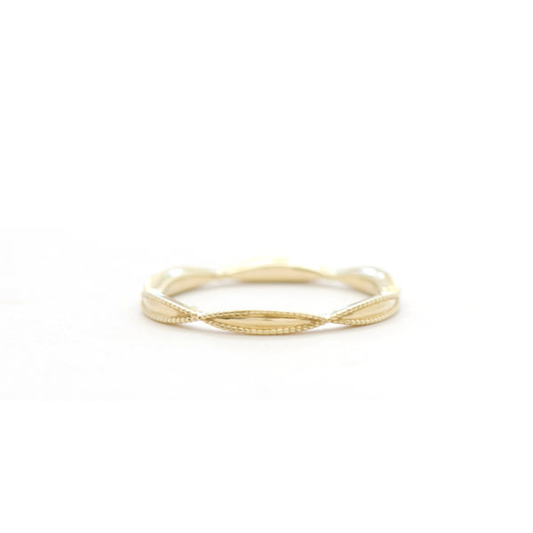 Marquise Shaped Plain Band