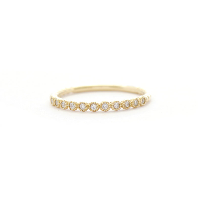 11 Stone Diamond Bezel Band (small)