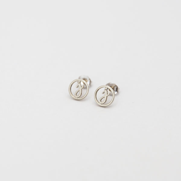 Love Letter Disc Earrings