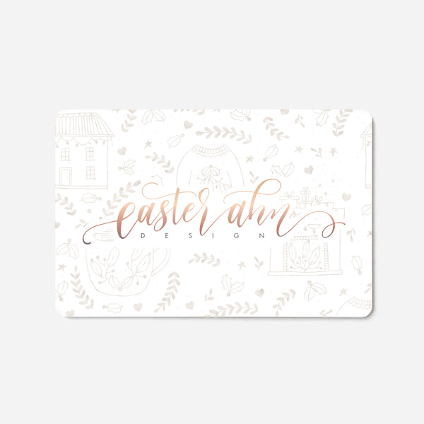 Easter Ahn Design Gift Card