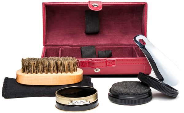 Red Shoe Shine Kit - Small -  - 1