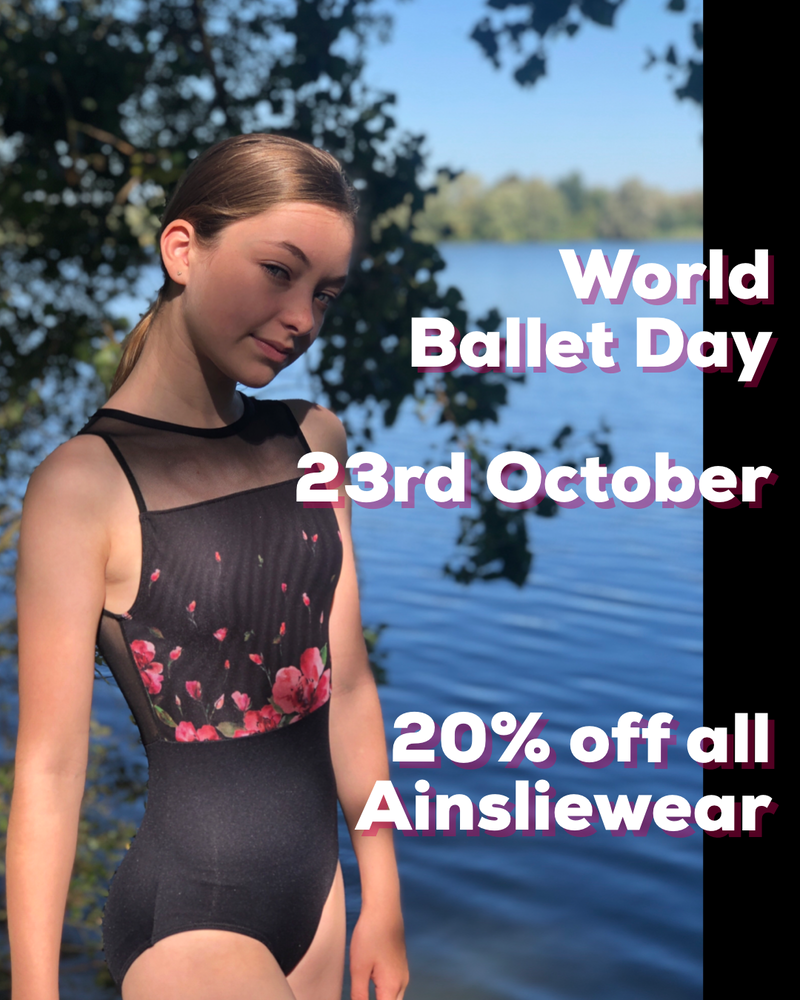 20% off for World Ballet Day!