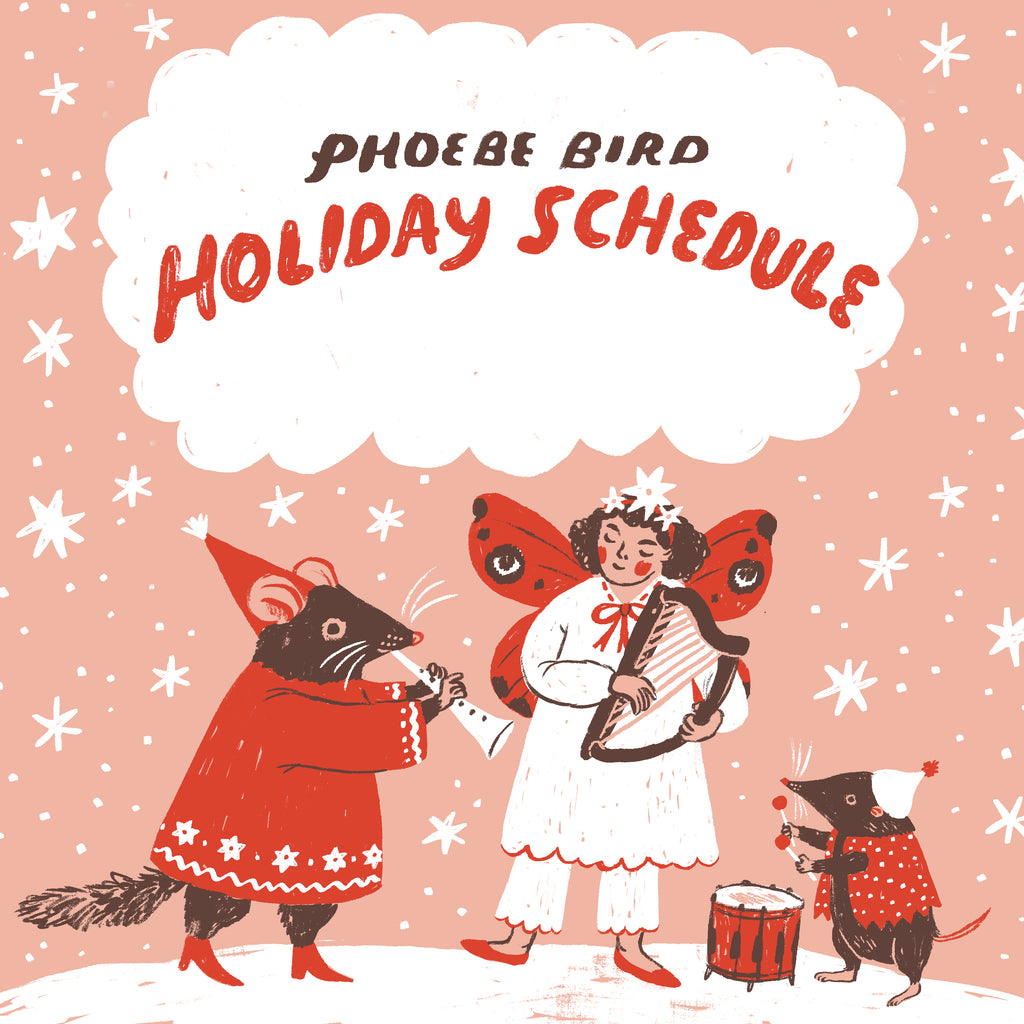 Holiday Events & Schedule at Phoebe Bird