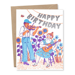 """Birthday Hoot"" card"