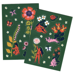 BLOOM sticker set