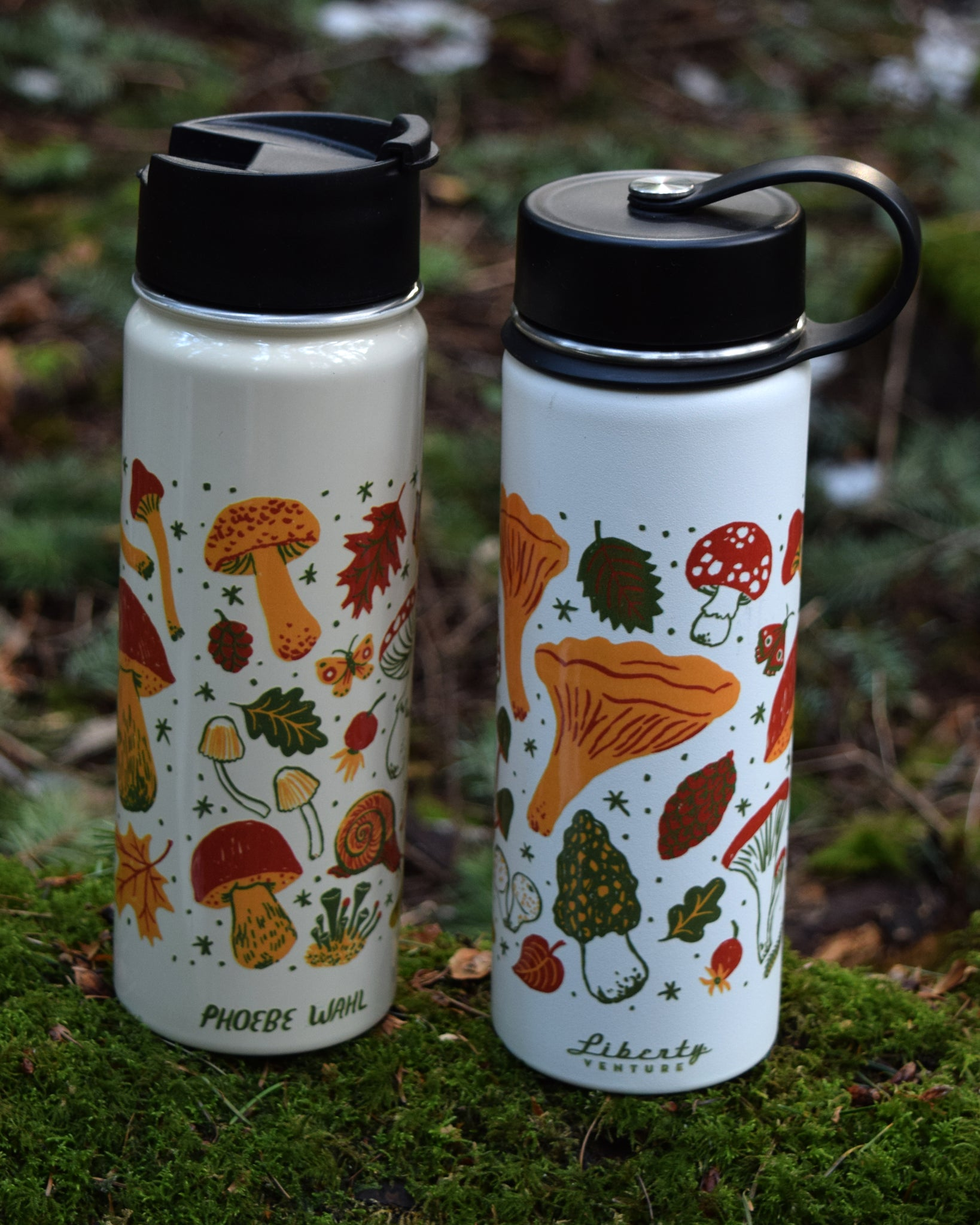 MUSHROOM insulated water bottle