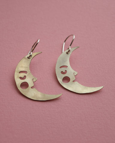 Crescent Moon earrings *COMING SOON*