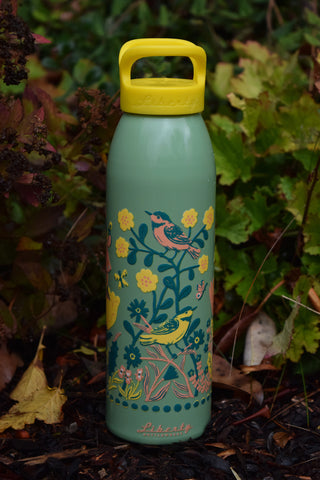 MIDNIGHT GARDEN water bottle