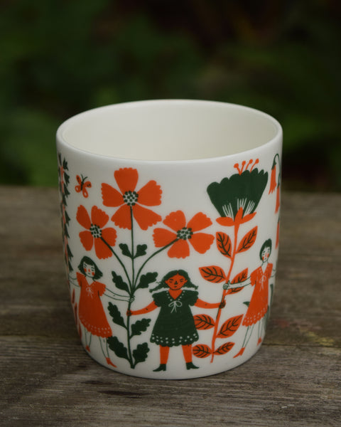 FLOWER GIRLS Ceramic Mug