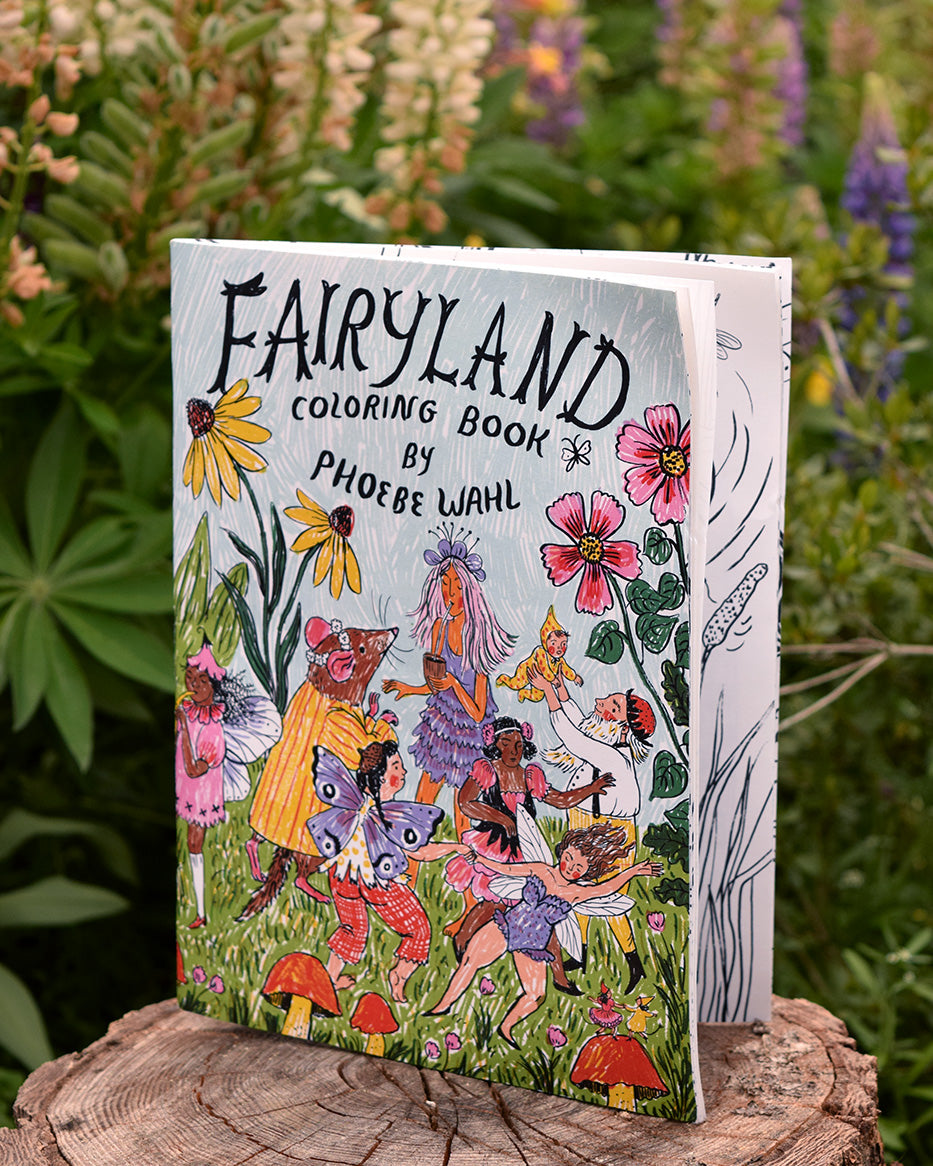 Fairyland Coloring Book DOWNLOAD