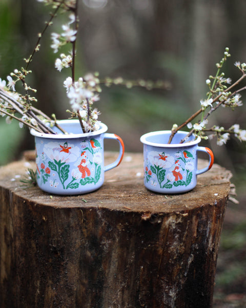 FLOWER FAIRY enamel mug