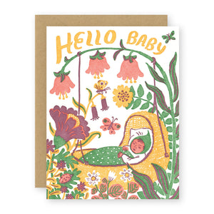 """Hello Baby"" card"