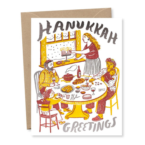 Hanukkah Greetings card