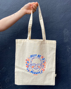 BEST BE BERNIE tote bag