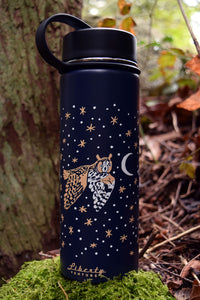 NIGHT OWLS Insulated water bottle