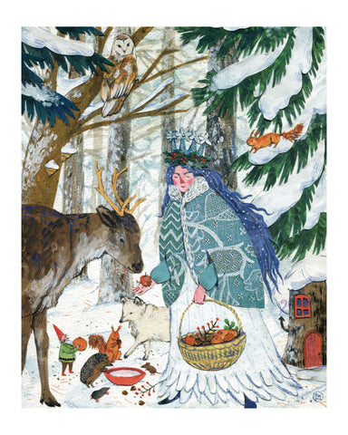 LADY WINTER print
