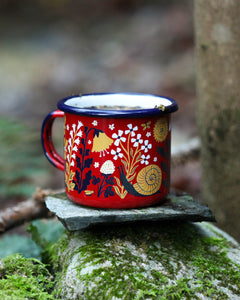 MEADOW enamel mug