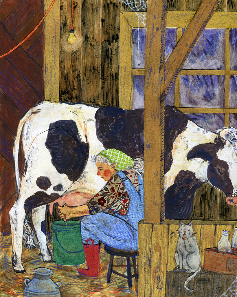 """Milking"" original"