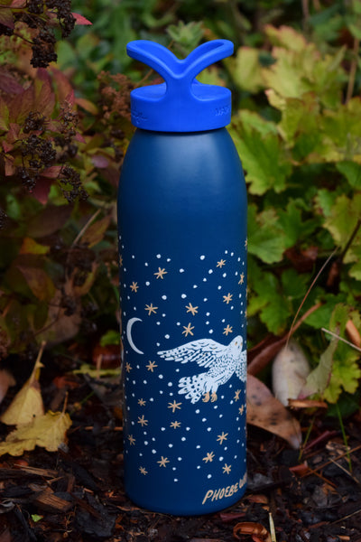 NIGHT OWLS water bottle