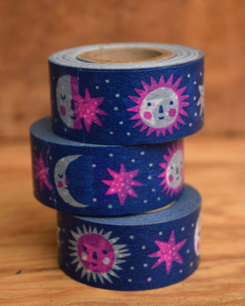 Sun & Moon washi tape