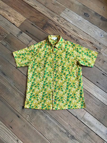 Field Day Sorrel Button Up Tee
