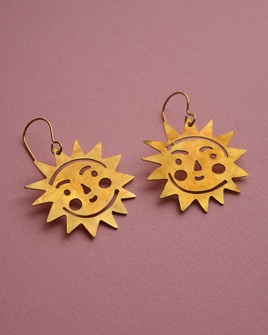 Sun earrings *COMING SOON*