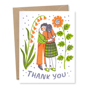 """Thank You Hug"" card"
