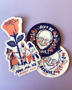 BEST BE BERNIE Sticker Set