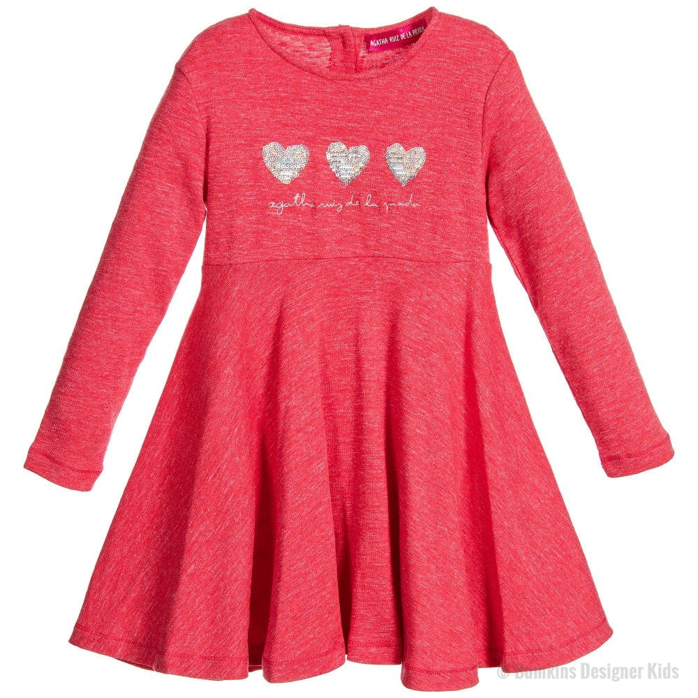 Agatha Ruiz De La Prada Red Dress 2827 - Bumkins Designer Kids (7863121992)