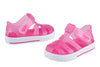 Igor Star Velcro Jelly Shoes Fuchsia 046 - Bumkins Designer Kids (529450303515)