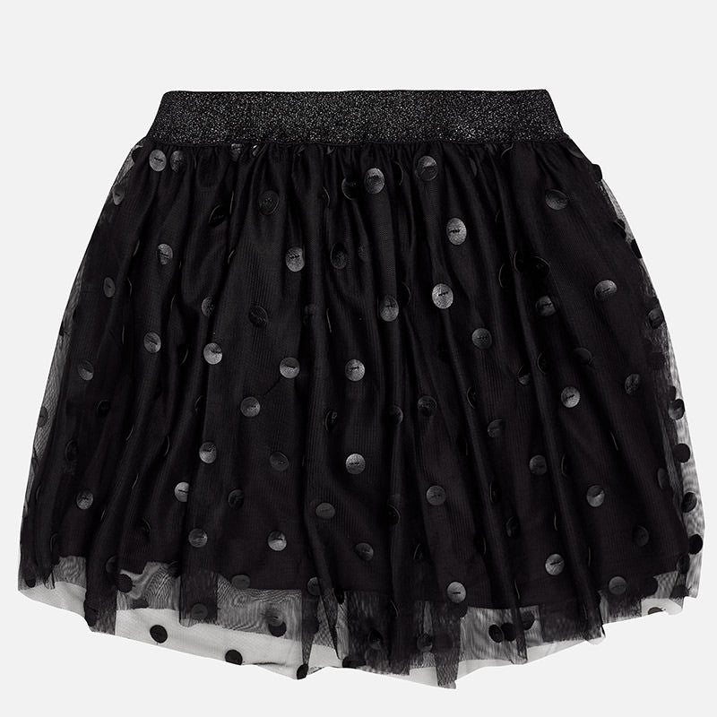 Mayoral Girl tulle with polka-dot short skirt 7907 - Bumkins Designer Kids (9871934865)