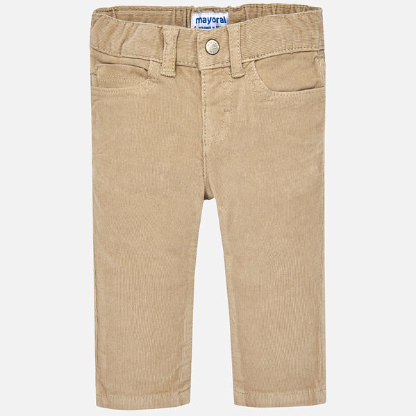 Mayoral Baby Boy Corduroy Trousers 502