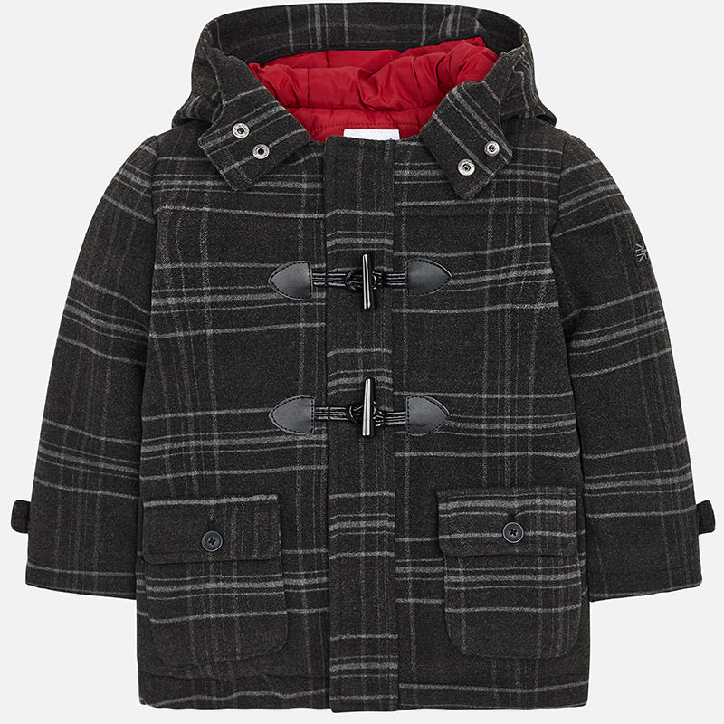 Mayoral Boy Duffle Coat 4412 (1394150572130)