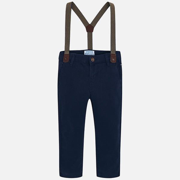 Mayoral Boy Chino trousers with suspenders Slim fit 4518