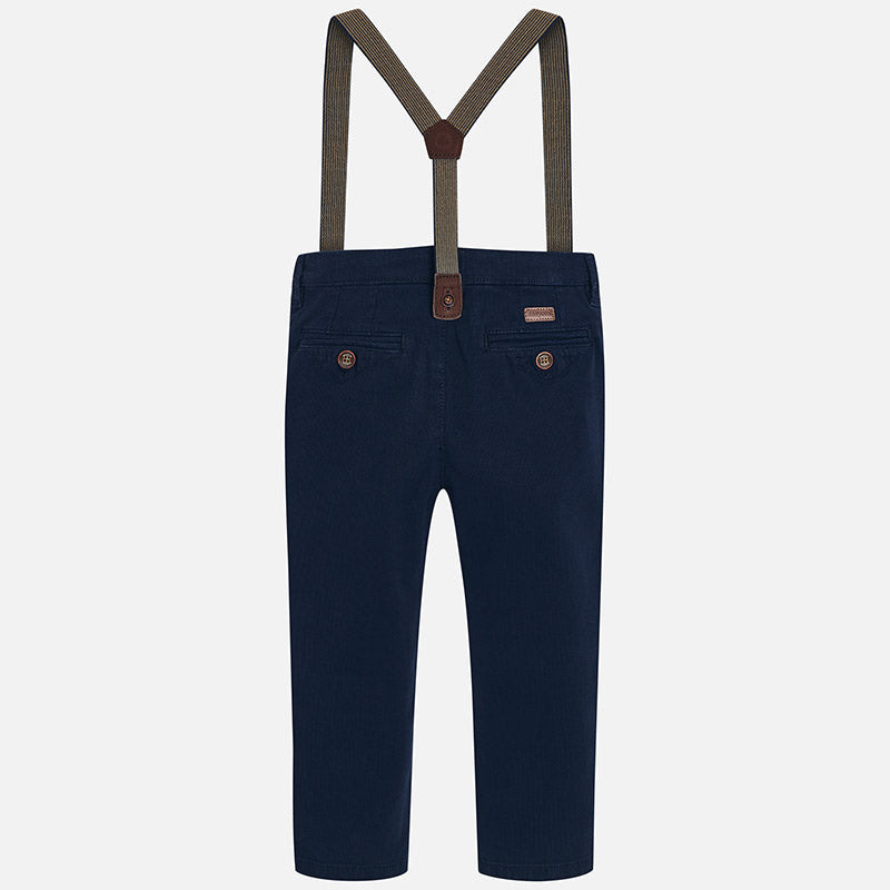 Mayoral Boy Chino trousers with suspenders Slim fit 4518 (1394170757218)
