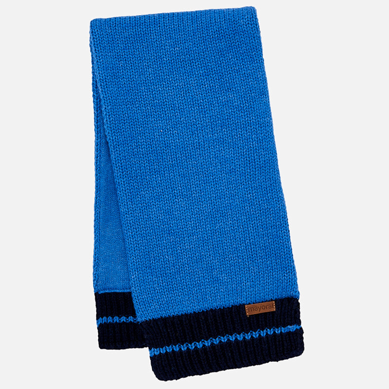 Mayoral Baby Boy Blue Knitted Scarf 10444 (1401610436706)
