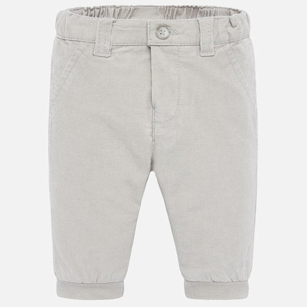 Mayoral Baby Boy AW19 Grey Corduroy Trousers 591