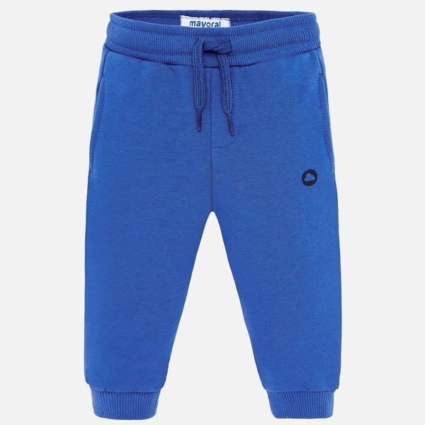 Mayoral Baby Boy AW19 Lake Blue Jogging Bottoms 704