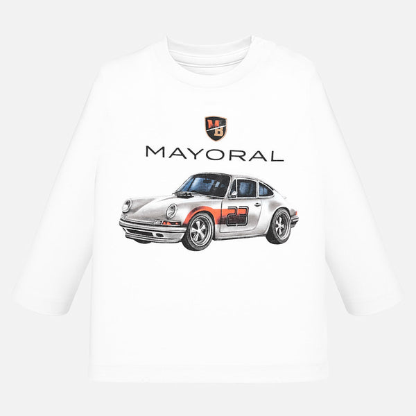 Mayoral Baby Boy AW19 Long sleeved car t-shirt 2017 (4319598542946)