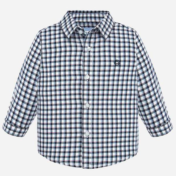 Mayoral Baby Boy AW19 Long sleeved checked shirt 2116