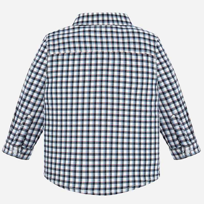 Mayoral Baby Boy AW19 Long sleeved checked shirt 2116 (4319567183970)