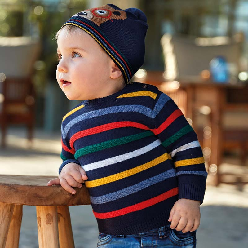 Mayoral Baby Boy AW19 Striped jumper 2325 (4319554306146)