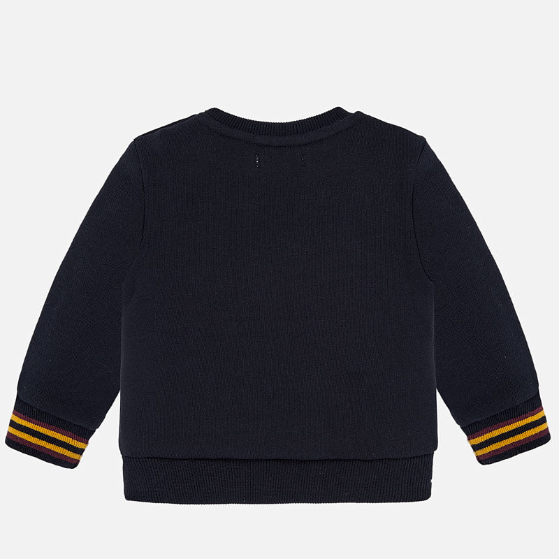 Mayoral Baby Boy AW19 Trainers Sweatshirt Navy 2440 (4319551291490)