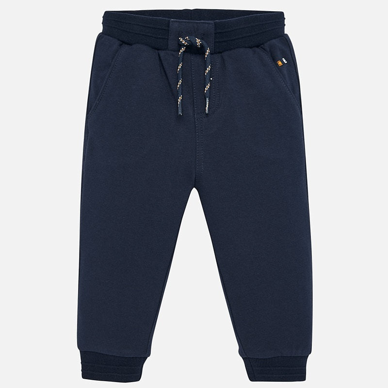 Mayoral Baby Boy AW19 Dark Blue Jogging Bottoms 2535 (4319544967266)