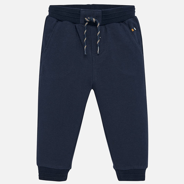 Mayoral Baby Boy AW19 Dark Blue Jogging Bottoms 2535